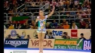 Alina Kabaeva Clubs Final Madrid World Championships 2001