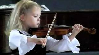 3 Year Old Violinist