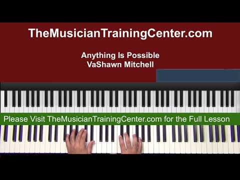 "Piano: How to Play ""Anything Is Possible"" by VaShawn Mitchell"