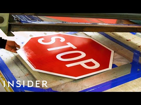 How New York Stop Signs are Made
