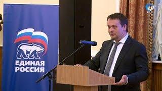 Кандидат на должность губернатора от «Единой России» Андрей Никитин встретился со своим общественным штабом