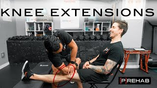Regaining Knee Extension After Surgery! | Episode 21