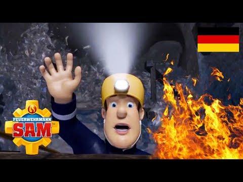 Feuerwehrmann Sam Deutsch Neue Folgen   Sam ist in Gefahr! - Zusammenstellung   Cartoons fur Kinder