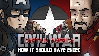 How Captain America Civil War Should Have Ended