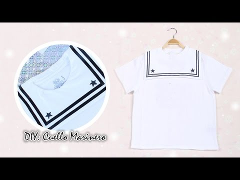 DIY: ROPA KAWAII | CUELLO MARINERO ANIME | AKARI BEAUTY