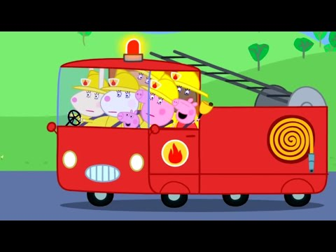 Peppa Pig English Episodes   The Fire Engine Peppa Pig Official