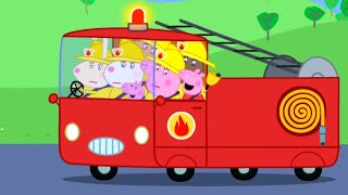 Peppa Pig English Episodes | The Fire Engine Peppa Pig Official