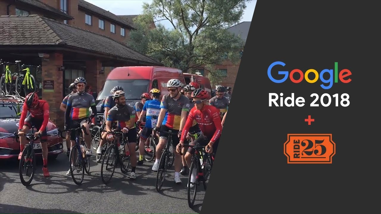 Google Ride 2018 + Ride 25 | Vlog