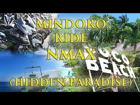 NMAX RIDE at Hidden Paradise in MINDORO - Coco Beach