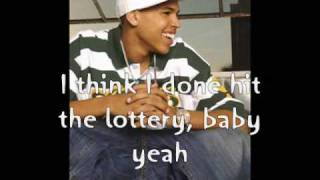Chris Brown-Lottery (lyrics)