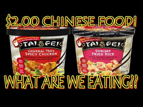 $2.00 General Tso's Chicken & Shrimp Fried Rice | WHAT ARE WE EATING?? | The Wolfe Pit