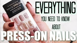 How to Apply Press-On Nails | TIPS & TRICKS | Everything You Need to Know | Katie Marie
