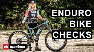 7 Enduro Bike Checks from Crankworx Rotorua 2020