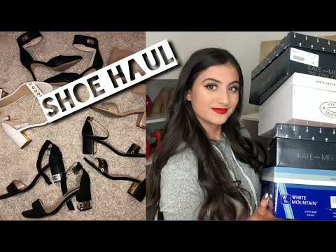 AFFORDABLE CLASSY SHOE HAUL | The Shoe Company Haul | Fancy High Heels & Sandals