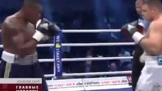 Денис Бойцов одержал победу техническим нокаутом