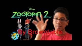 Raptormon's Casting Audition Video For Browntable's Zootopia 2 Fan-Film