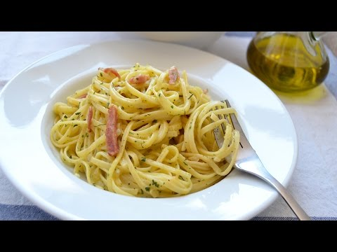 Pasta Carbonara – Easy Tagliatelle Carbonara Recipe