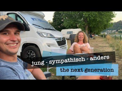 Sarah und Michael in St.Goarshausen beim Camping Loreley Stadt 2020