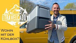 Kühlbox im Minicamper - Wohin mit der Dometic CDF-26?