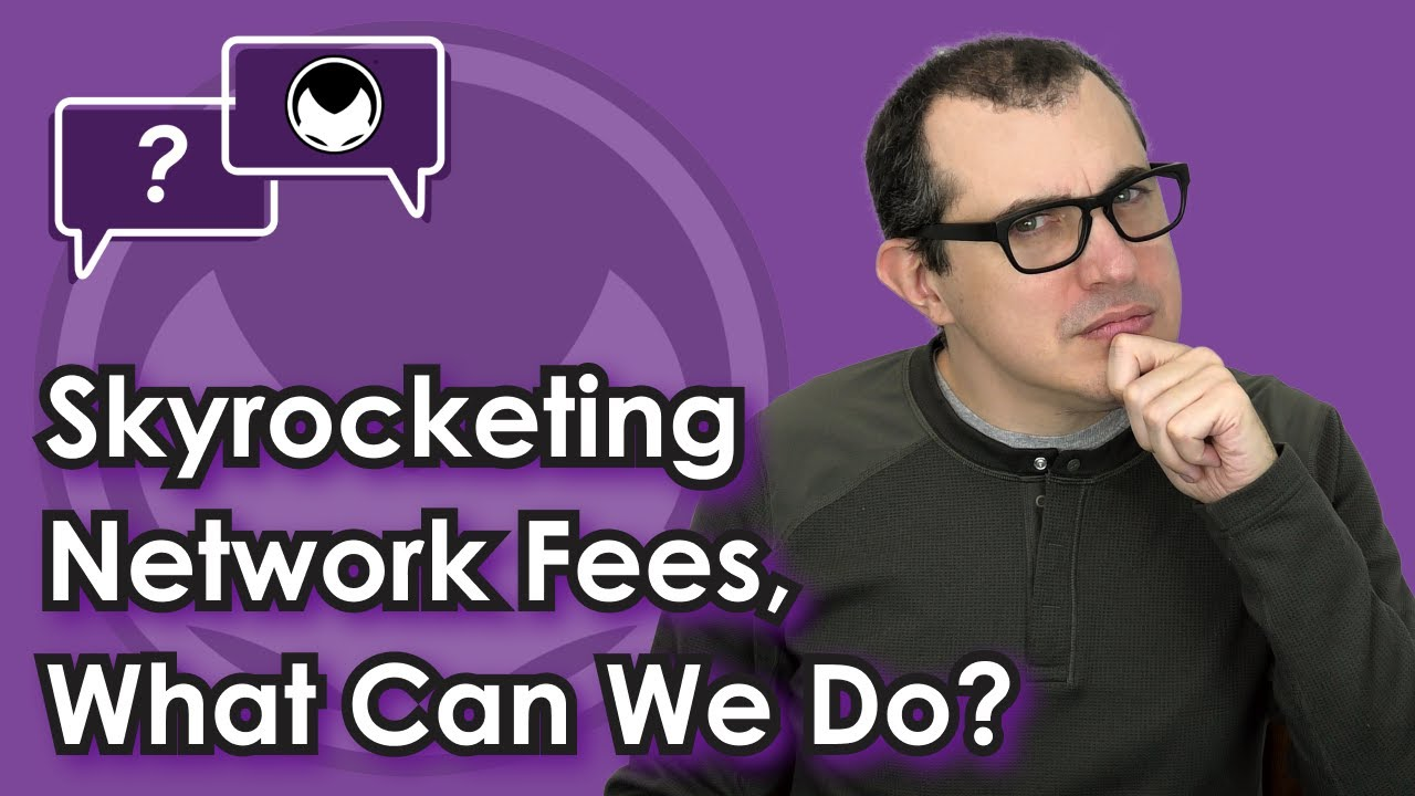 Ethereum Q&A: Skyrocketing Network Fees, what can we do? #Ethereum #ETH
