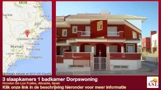 preview picture of video '3 slaapkamers 1 badkamer Dorpswoning te Koop in Hondon De Los Frailes, Alicante, Spain'
