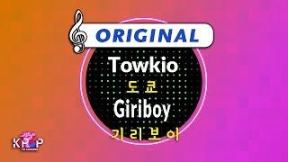 [KPOP MR 노래방] 도쿄 - 기리보이 (Origin Ver.)ㆍTowkio - Giriboy