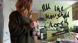 All The Household Chores... VLOG   The Gem Agenda