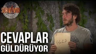 Beyin Yakan Cevaplar | Survivor 2017