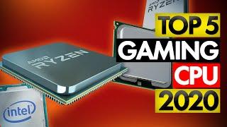 Top 5 BEST Gaming CPU (2020)