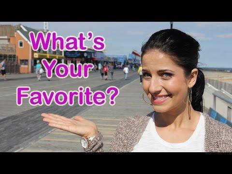 What's Your Favorite Boardwalk/Carnival Treat??
