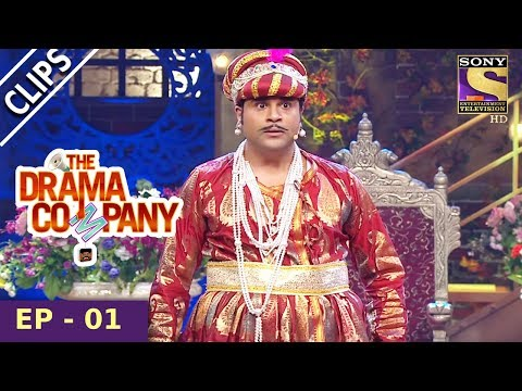 Krushna As Badshah Jalal-ud-din Akbar - The Drama Company - 16th July, 2017