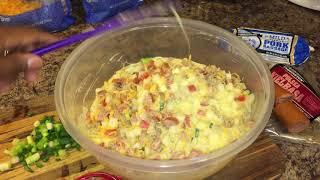 Breakfast bake Casserole