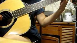やさしさに包まれたなら 歌詞付き guitar