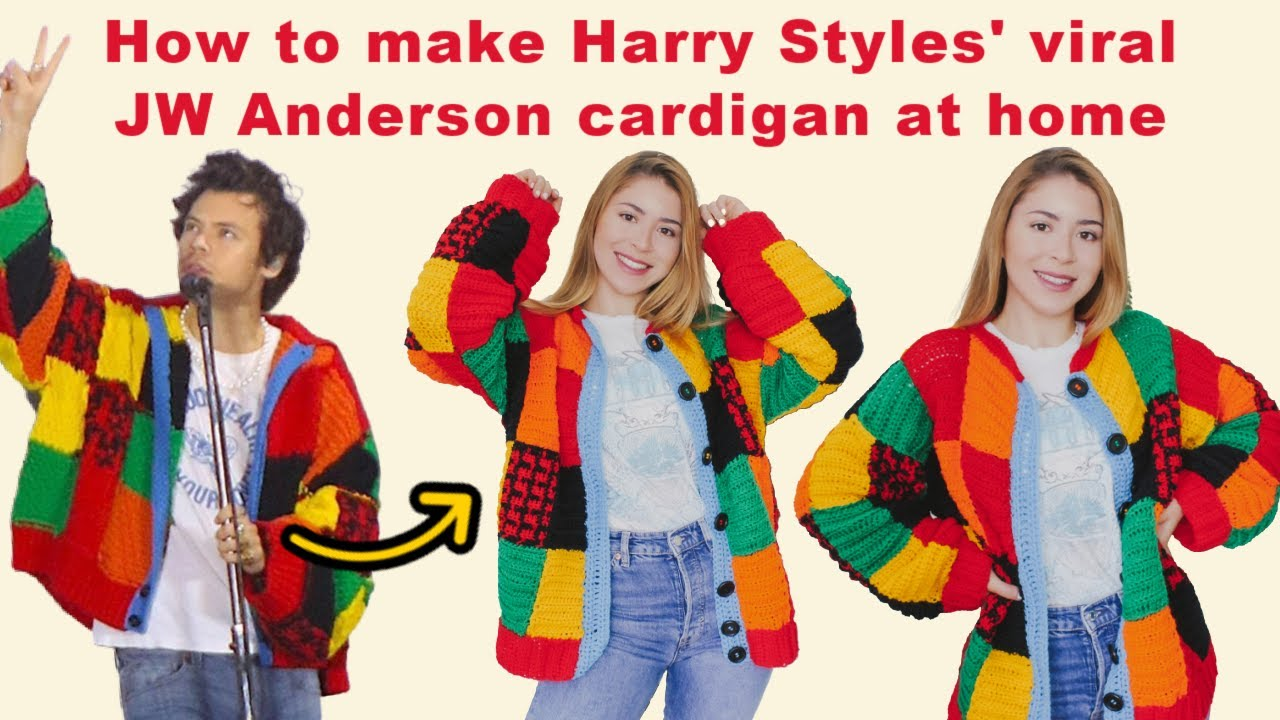 How to make Harry Styles' viral JW Anderson cardigan at home