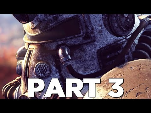 FALLOUT 76 Walkthrough Gameplay Part 3 - MACHINE EVENT (PS4 PRO)