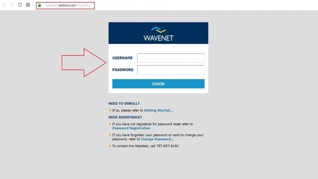 Sentara wavenet portal login employee