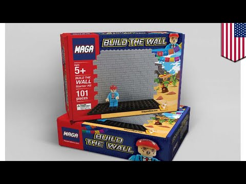 New MAGA Build the Wall toy to hit the shelves for Christmas - TomoNews