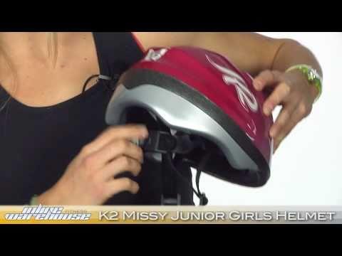 K2 Missy Junior Inline Skate Helmet