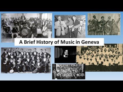 Geneva Stories: A Brief History of Music In Geneva