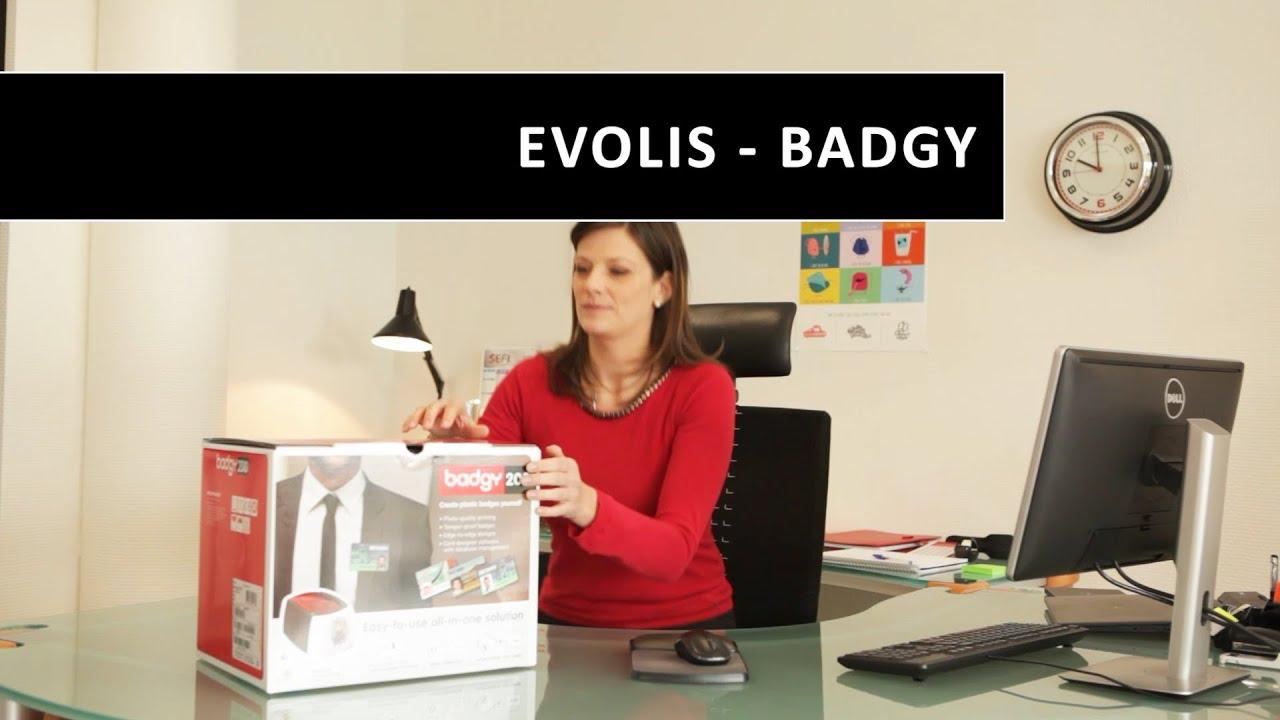 Evolis - Badgy200 - Badgy - Economical Card Printing Solution