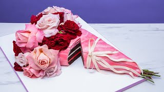 This rose bouquet is a CAKE! | Valentine's Day Baking Ideas 2021 | How To Cake It with Yolanda Gampp