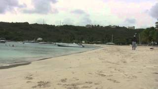 preview picture of video 'Anguilla - Sandy Ground Beach Waves'