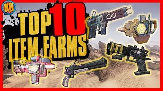 TOP 10 Item Farms in Borderlands 2 - Easy Legendary Loot!