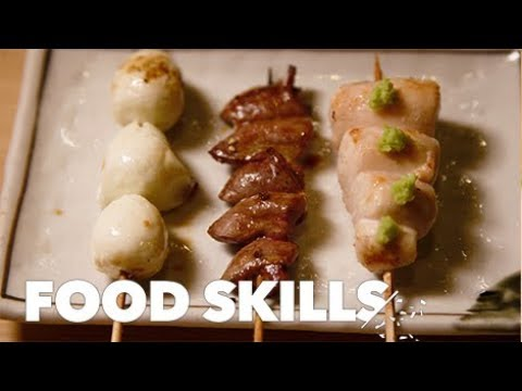 Japanese Yakitori Is a Chicken-Lovers Dream | Food Skills
