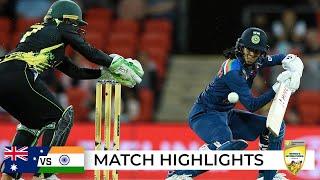 Recalled Rodrigues shines before rain ruins match | First T20I | Australia v India 2021
