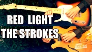Red Light - The Strokes ( Guitar Tab Tutorial & Cover )