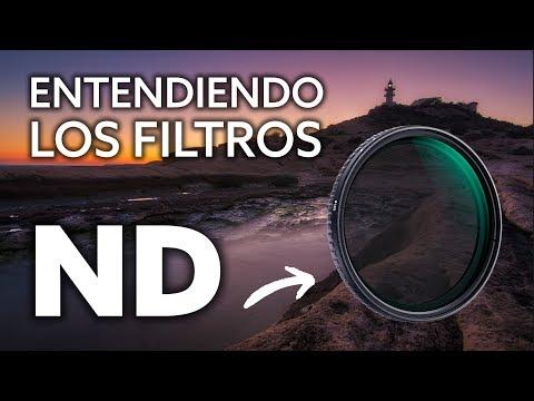 ENTENDIENDO los FILTROS ND - Review K&F Concept ND2 - ND32