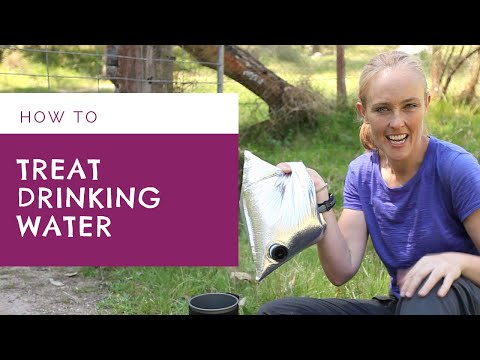 Video How to treat drinking water