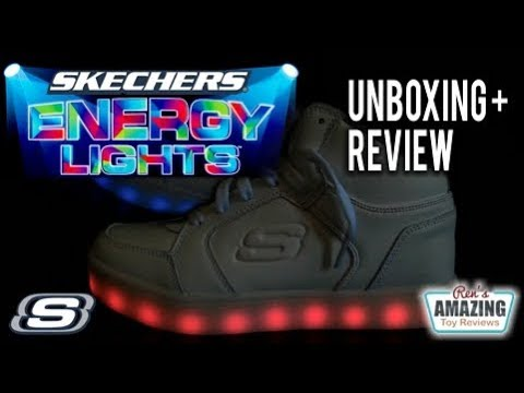 Skechers Energy Lights Shoes unboxing and review