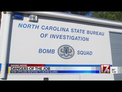 Dangers of the job for NC SBI bomb squad agents